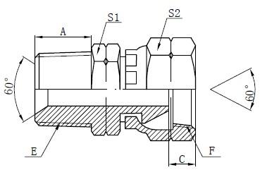 NPSM adapterining armatura qismlari
